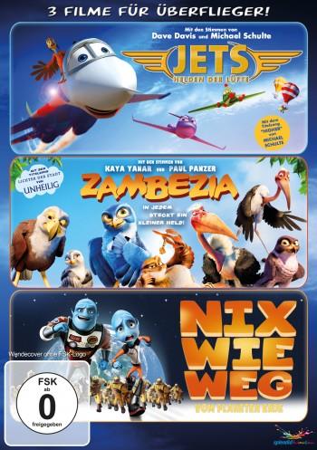 Überflieger-Box - (Zambezia, Jets, Nix wie weg!)