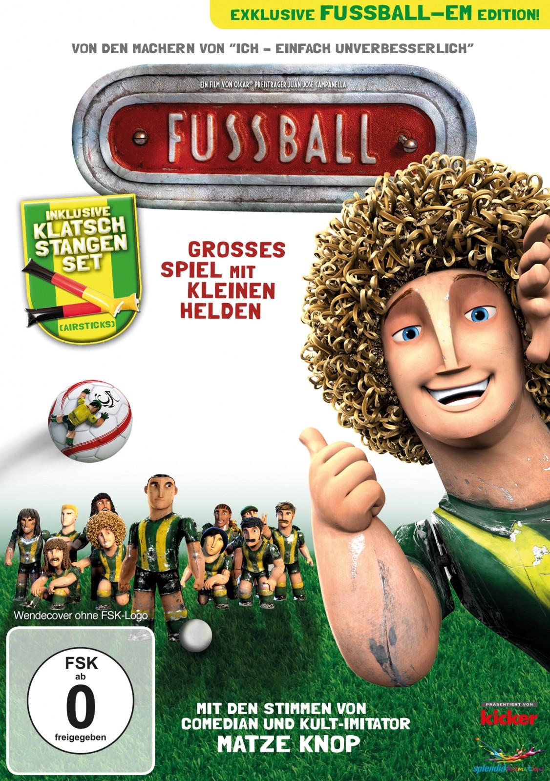 Fußball - Großes Spiel mit kleinen Helden - Ltd. EM Edition inkl. Air-Sticks